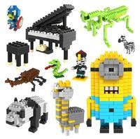 gift free Shipping  loz blocks  models & building toys plastic children diy Assembles Particles Block cartoon