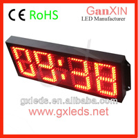 large outdoor clock led waterproof clock