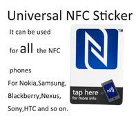 5pcs/ Lot Universal NFC Sticker For All the NFC Phones Samsung Nokia Sony HTC Nexus 30x45mm
