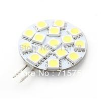 Free Shipping 10PCs 12V 6 LED 9 LED 12 LED 15 LED G4 Light Round Board SMD 5050 White Warm White For Car Lighting Marine Light