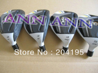 4 PC R-Bladez Stage2 Golf Hybrid (#2/#3/#4/#5) with Graphite Shaft R/S Flex Free Headcover freeshipping