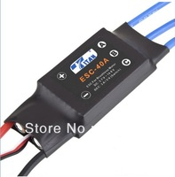 3pcs/lot RC TITAN 40A Brushless ESC Speed Controller 4A UBEC Connector for  6ch RC Helicopter TREX 450
