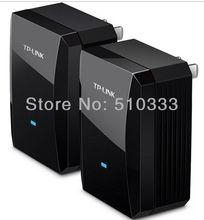TP LINK TL PA500 AV500 Mini Powerline Adapter Starter Kit (2 PC/LOT) Plug & Play +free shipping(China (Mainland))