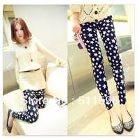 New style!  2013 New Fashion Women Han Edition Cultivate One's Morality Joker Women Leggings Star Item Leggings Pants