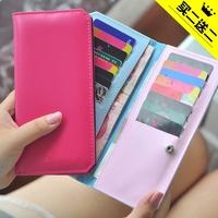 2013 card holder bank card case women's multi card holder wallet long design, free shipping