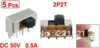 5 Pcs x SK22F09-G4 6 Pin 2 Position 2P2T DPDT Panel Horizontal Slide Switch PCB DIY