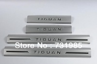 2010-2013 built-in threshold of 4 pieces of stainless steel door pedal Tiguan built-in threshold