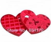 New 1 X feroli of heart-shaped chocolate box gift box large gift box kawasaki rose box