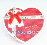 New 1 X DIY handmade chocolate heart-shaped box gift box at west cake box 14 chocolate box