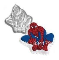 New 1 XCake mould spider-man aluminum alloy cartoon creative mode cake mold baking tools
