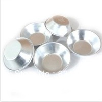 5 X Baking mold | circular aluminum egg tart mould cake mould jelly pudding) used in the oven
