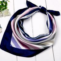 Blue house 2012 female small facecloth work wear silk scarf squareinto scarf