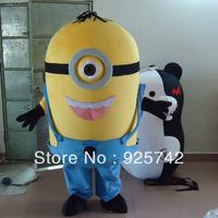 new arrival despicable me minion mascot costume custom-made Mascot Costume