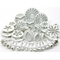 New 1 X Double sugar cake mold tool suits spring baking tools such as embossing die + cutting die
