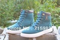 2013 autumn NEW styles man's high shoes casual  fashion shoes genius baby free shipping by china post, code A862.