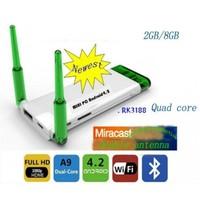 Quad Core Android 4.2.2 Dual Antenna Mini PC CX-919 II  1.8GHz 2GB RAM 8GB ROM Twin WIFi Antenna Stronger Signal
