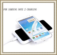 2013 Newest Qi Wireless Charging Kit For Samsung Galaxy Note 2 II N7100 Wireless Charger Pad Transmitter Mat +Receiver Module