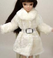 White Coat  For Barbie Doll Girl