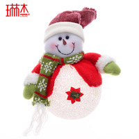 Christmas gift quality belt 30cm led lighting christmas snowman christmas tree Christmas decoration