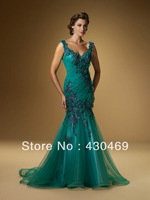 Hot Sell Sheath Mother of the Bride Dresses Evening Dress Fashion 2014 with Embroidery on Bodice evening dresses