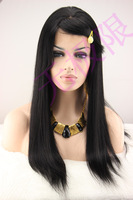 Hot-selling wifing hand-made full lace wig wigs long straight hair