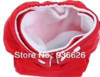 Adjustable Reusable Baby Cloth Diaper Nappy RED Color 1PCS