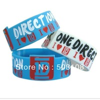 I Love One Direction 1 inc wristbands