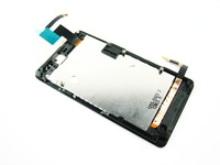Full LCD Display+Touch Screen Digitizer+Black Frame for Sony Xperia Go / ST27i