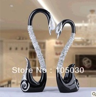 European couples swan furnishing articles/wedding gifts/home decoration/wedding fashion crafts