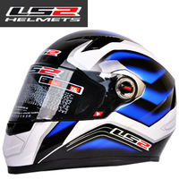 Free shipping new authentic upscale LS2 professional motorcycle racing helmet full face helmet off-road vehicles 358