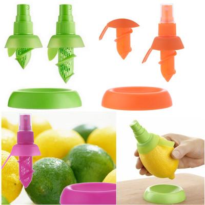 1Set Free Shipping Fruit Citrus Lemon Lime Orange Mist Sprayer Juice Maker Juicer Kitchen Tool FZ1189(China (Mainland))