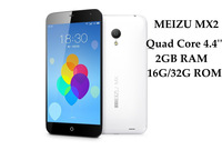 MEIZU MX2 Quad Core Cellphone Android 4.4 Inch 2GB RAM 16GB ROM Smart Phone HD Screen Flyme 2 camera 8MP