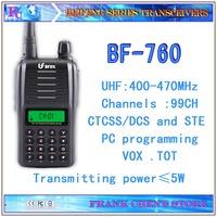 Handheld Transceiver Beifeng Two Way Radio UHF Single-band Transceiver  BF-760  Free Shipping