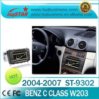 Android car media system for Benz C-Class CLK with GPS/DVD/BLUE/FA/ATV/SD/USB/IPOD...