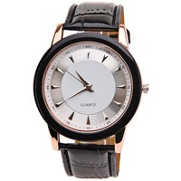 2023 new vintage fashion simple men's Watch Needles Indicate Rectangle Dial black Leather WatchBand  free shipping