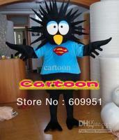 Black penguin  mascot costume Free shipping