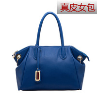 2013 women's handbag female first layer of cowhide genuine leather bag one shoulder cross-body handbag