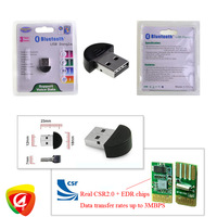 5sets Tiny Mini USB 2.0 Bluetooth V2.0 EDR Dongle Adapter Adaptor with retail package Freeshipping