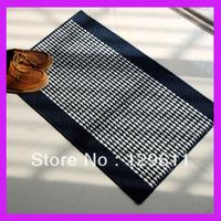 Doormat mats slip-resistant pad  bathroom waste-absorbing slip-resistant mats bath rug striped long bath rug loom for knitting
