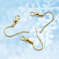 20 * 18mm copper plated ear with bead