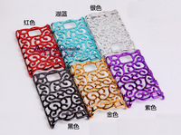 High Quality Plating Artistic Palace Flower Cover for Samsung Galaxy S2 i9100 Hollow Hard Case, Free Shipping