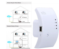 Wireless-N Wifi Repeater 802.11N/B/G Network Router Range Expander 300M 2dBi Antennas Signal Boosters