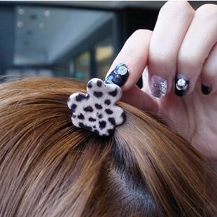 Fashion leopard print mini gripper clip hair pin clip bangs hair accessory hair accessory female(China (Mainland))