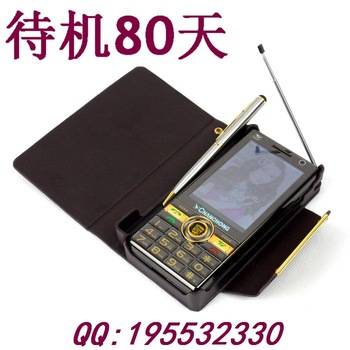 Flashlight 28800mah FM Military quality High volume horn Ultra long tv  mobile phone bar dual sim the elderly handwritten