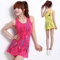 2013 women's fashion tennis ball badminton sportswear vest one-piece dress