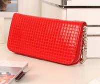 leather wallet woman purse zipper brand designer Women's wallets ladies pu mini  wallets fashion Wholesale Eight colores