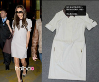 2013 super star style! high quality! VB dress sexy slim women's dress free shipping