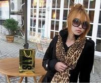 5Pcs Fashion Women Leopard Print Cotton Pashmina Infinity Scarf Shawl Collar Wrap JW5670
