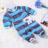 New 2014 Polar fleece fabric baby romper good quality newborn clothes spring and autumn