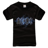 High-Quality AC/DC logo Unisex T-shirt Rock n Roll Hall High Way To Hell Plus Size S/M/L/XL/XXL